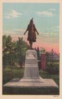 Virginia Jamestown Island Indian Princess Pocahontas Monument Cu
