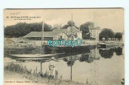 Br - 44 -  NORT SUR ERDRE - Challand - Péniche - Navigation Fluviale  - Bateau - Nort Sur Erdre
