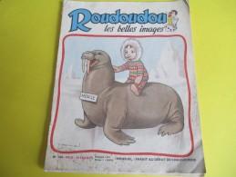 Enfant / ROUDOUDOU Les Belles Images /N° 100/Imprimerie Crété/ Février 1959        BD90 - Libros, Revistas, Cómics