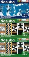3-CARTES PREPAYEES-NASUBA-10000CFA-2-5000CFA-V° Différents-CEDEAO-ECOWAS- - Bénin