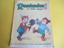 Enfant / ROUDOUDOU Les Belles Images /N° 97/Imprimerie Crété/ Novembre 1958     BD91 - Libros, Revistas, Cómics