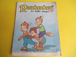 Enfant / ROUDOUDOU Les Belles Images /N° 102/Imprimerie Crété/Avril 1959    BD92 - Libros, Revistas, Cómics