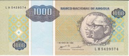 BILLETE DE ANGOLA DE 1000 KWANZAS DEL AÑO 1995 SIN CIRCULAR-UNCIRCULATED (BANKNOTE) - Angola