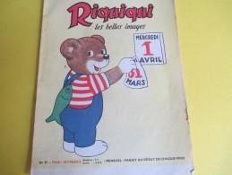 Enfant /RIQUIQUI Les Belles Images /N° 91 /Imprimerie Crété/Avril 1959    BD93 - Libros, Revistas, Cómics
