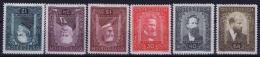 Osterreich Austria: Mi 545 - 549, 12+24+1S = MH/* Falz/ Charniere 30+40+64 Are MNH/** Postfrisch  1932 - 1918-1945 1a Repubblica