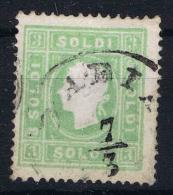 Osterreich Lombardei Venetien 1850 Nr 8 II Used   Lombardo Veneto  1858 - Used Stamps