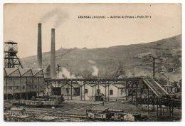 12 - Aveyron / CRANSAC -- Aciéries De France - Puits N° 1. - Autres Communes