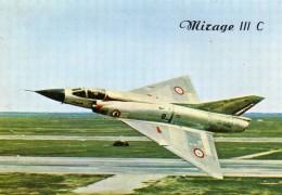 Militaria -Mirage IIIC -328 -Avion De Combat -Mach. 2 -En Service Dans L'armée De L'Air Française Gén. Aéro. M. Dassault - 1946-....: Moderne