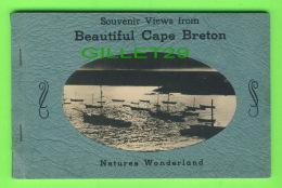 CAP BRETON, NOUVELLE ÉCOSSE - SOUVENIR VIEWS- 24 Cartes - DIMENSION 11X 17 Cm - - Cape Breton