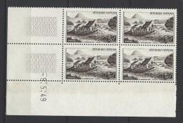"""FR Coins Datés YT 843 """" Mont Gerbier De Jonc """" Neuf** Du 9.5.49 - 1940-1949"""