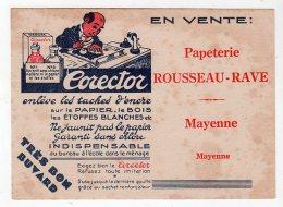 Mai16    74839   Buvard Rousseau Rave   Papeterie    Mayenne - Papeterie