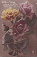 AK Rosen - Aves Ces Fleurs... - Ca. 1910 (22956) - Blumen