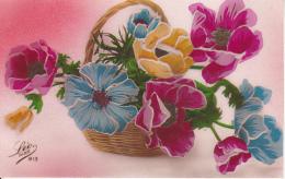 AK Korb Mit Stiefmütterchen - Ca. 1910 (22958) - Blumen
