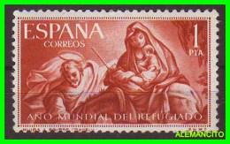 ESPAÑA -  AÑO MUNDIAL DEL REFUJIADO -AÑO 1961 - 1961-70 Unused Stamps