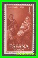 ESPAÑA -  NAVIDAD  -AÑO 1960 - 1951-60 Unused Stamps