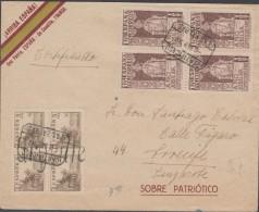 España 1937. Canarias. Correo Certificado Urgente De Las Palmas A Lanzarote. Censura. - Marcas De Censura Nacional