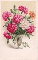 AK Vase Mit Nelken - Ca. 1920 (22967) - Blumen