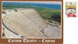 KIBRIS  CYPRUS  CIPRO  Curium Theatre  Nice Stamp Olimpic Theme - Cipro