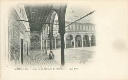 KAIROUAN - Cour De La Mosquée Des Barbiers - Tunisie