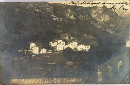 - Carte Photo - Sondrio - Giacomo  Bel Védere, Chalets, écrite En 1914, Rare, BE, Scan . - Sondrio