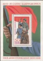 E)1979 GERMANY, MILITARY, REVOLUTION, BATLLE, SOUVENIR SHEET, MNH - [6] Democratic Republic