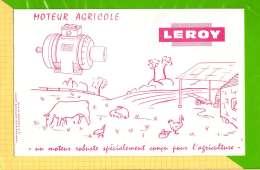 BUVARD & Blotting Paper : Moteur Agricole LEROY  Conçu Pour L´Agriculture - Agriculture