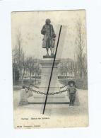 CPA  Tachée - Ferney  -  Statue De Voltaire - Ferney-Voltaire