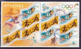 FRANCE 3686/87 BLOC FEUILLET N° 73 J.O ATHENES - Sheetlets