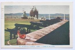 UN COIN DE LA CITADELLE / A CORNER OF THE CITADEL, QUEBEC CANADA, 1953 - Québec - La Citadelle