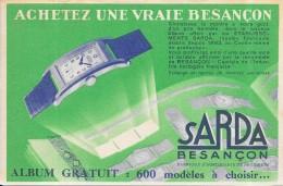 BESANCON - 25 -  Carte Pub Les Montres Besançon -  - VANH - - Besancon