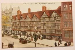 OLD STAPLE INN, HOLBORN, LONDON, ENGLAND - London