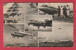Melsbroek -De Luchthaven - 5 Foto's - Sabena ( Verso Zien ) - Steenokkerzeel