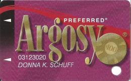 Argosy Casino Lawrenceburg, IN - Slot Card - Casino Cards