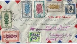 Enveloppe  Cachet Au Depart De BOTA   (  Afrique Du Sud ) à  Destination De KESSEL  (  Belgique )  Par Avion - Afrique Du Sud (1961-...)