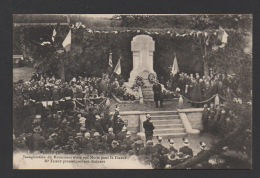 DF / 52 HAUTE MARNE / ROSOY / INAUGURATION DU MONUMENT AUX MORTS POUR LA PATRIE 30.10.1921 / DISCOURS DE M. TRIBET - Autres Communes