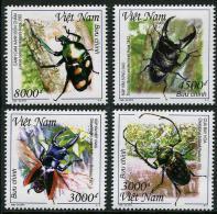 VIÊT-NAM 2015 - Faune, Insectes - 4 Val Neufs // Mnh - Viêt-Nam