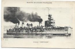 """Carte Postale/Marine Militaire Française/Croiseur """"GUEYDON""""/MJ/ Vers 1930-1950      MAR13 - Barcos"""