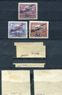 Tschecheslowakei 192 - 4 Falz Gepr #dx348 - Abarten Und Kuriositäten