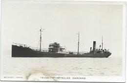"-Carte Postale/Transport Pétrolier  "" GARONNE"" / Vers 1930-1950      MAR16 - Bateaux"