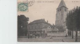 SAINT - THIBAULT  :-  L  '  EGLISE  -  UN  COIN  DU  CHÂTEAU - France