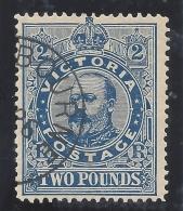 VICTORIA 1906 £2 BLUE  Nº 141 - 1850-1912 Victoria