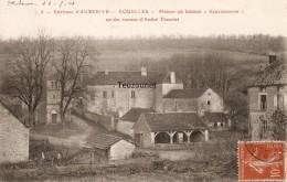 """Cpa Environs D'Auberive Rouelles Maison Où Habitait """"Sauvageonne"""" Un Des Romans D'André Theuriet    N°5   Rare - Francia"""