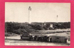 62 PAS-DE-CALAIS LE TOUQUET, PARIS-PLAGE, Les Phares, Animée, Train,  (CAP) - Le Touquet