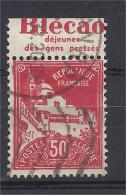 Algérie - Carnets - Pub - Mosquée De La Pêcherie 50 C Rouge - BLECAO Gens Pressés -  Oblitéré - Advertising