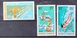POLYNESIE  Timbres Neufs ** De 1971  ( Ref 3399 ) Sport - Unused Stamps
