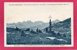 74 SAVOIE, Col De La Croix De Fer Et Les Aiguilles D'Arves, Animée,  (L. Blanc) - France