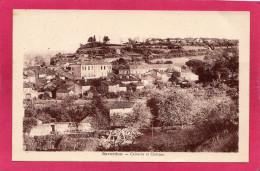 09 ARIEGE SAVERDUN, Calvaire Et Château, 1933,   (ERA, Narbonne) - Francia