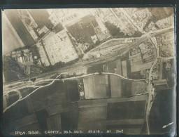 Photo  Aérienne  De Conty ( Somme ) Daté Le 22/05/1918 - 15 Heure - 1700 M    - Format 23x 18 Cm -  Vifg0708 - Guerre, Militaire
