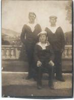 """Photographie/Photo De Studio /Groupe De Marins Du """"ARMORIQUE"""" / Vers 1930-1950     MAR32 - Bateaux"""