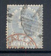 CEYLON, RED Postmark GALLE - Ceylon (...-1947)